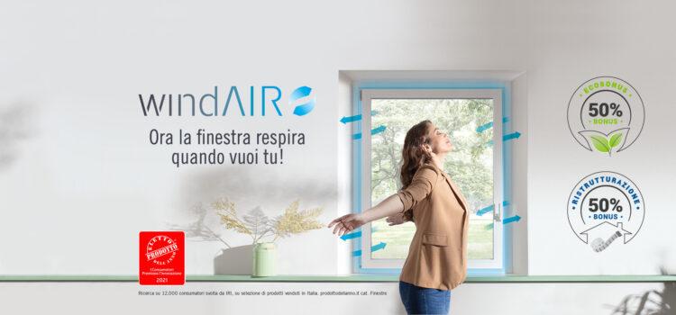 windAIR: Il nuovo modo di arieggiare casa